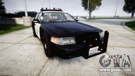Ford Crown Victoria Highway Patrol [ELS] Vision for GTA 4