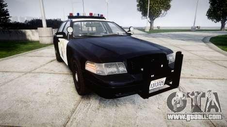 Ford Crown Victoria Highway Patrol [ELS] Vision for GTA 4