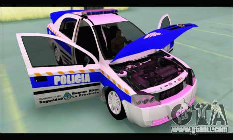 Chevrolet Astra Policia Vial Bonaerense for GTA San Andreas right view