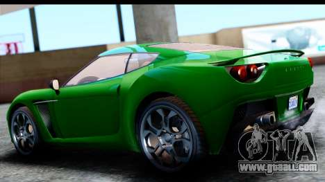 GTA 5 Grotti Carbonizzare v3 SA Mobile for GTA San Andreas left view