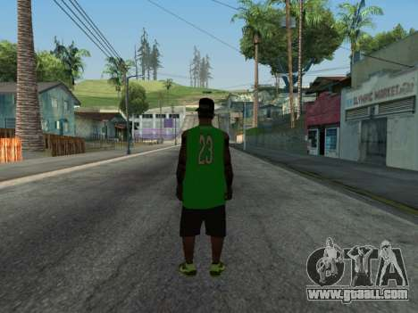Fam3 Skin for GTA San Andreas second screenshot