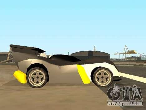 RC Bandit (Automotive) for GTA San Andreas back view