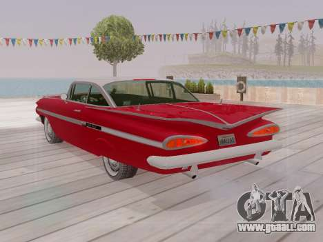 Chevrolet Impala 1959 for GTA San Andreas interior
