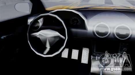 GTA 5 Dewbauchee Massacro Racecar SA Mobile for GTA San Andreas back left view