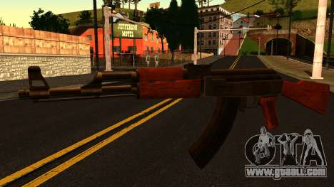 AK47 from GTA 4 for GTA San Andreas