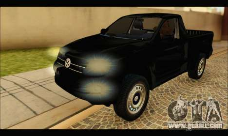 Volkswagen Amarok Cabina Simple for GTA San Andreas