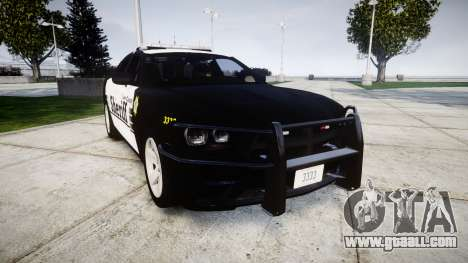 Dodge Charger 2013 County Sheriff [ELS] v3.2 for GTA 4