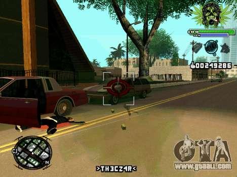 C-HUD Marihaus for GTA San Andreas forth screenshot