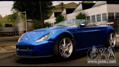 GTA 5 Dewbauchee Rapid GT Cabrio [HQLM] for GTA San Andreas left view