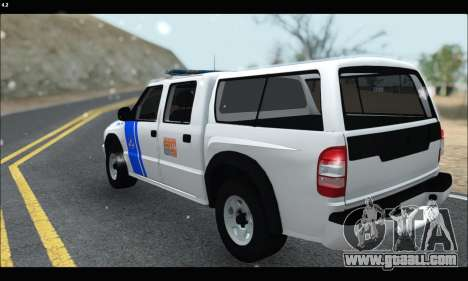 Chevrolet S-10 P.N.A for GTA San Andreas back left view