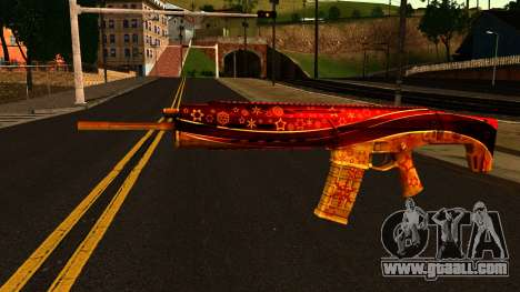 New Year's Eve Assault Rifle for GTA San Andreas