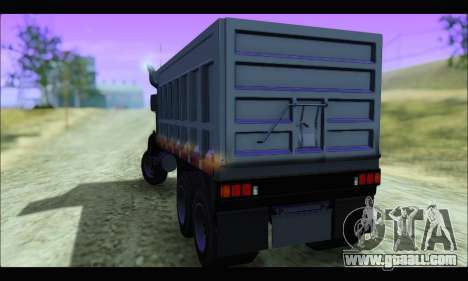 HVY Biff (GTA IV) for GTA San Andreas left view