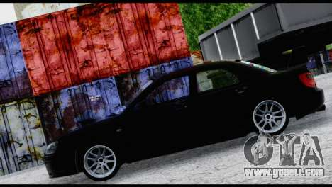 Subaru Impreza Hellaflush 2004 for GTA San Andreas inner view