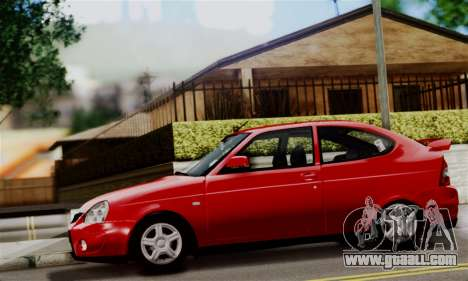 Lada Priora Sport for GTA San Andreas back left view