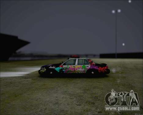 Ford Crown Victoria Ghetto Style for GTA San Andreas back left view