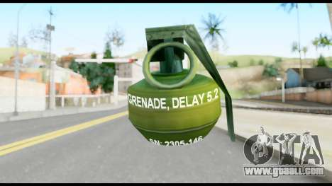 MGS1-2 Grenade from Metal Gear Solid for GTA San Andreas second screenshot