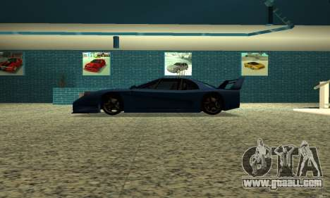 HD Turismo for GTA San Andreas left view
