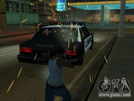 New Effects Pack White Version for GTA San Andreas tenth screenshot