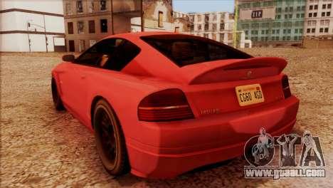 Schyster Fusilade Sport 1.0 (HQLM) for GTA San Andreas left view