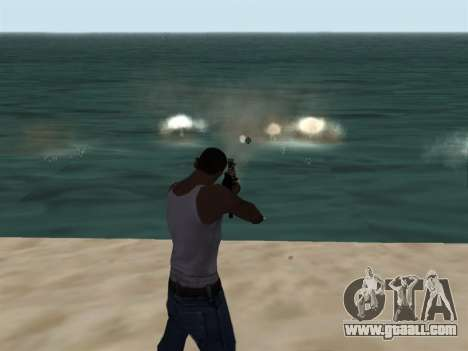New Effects Pack White Version for GTA San Andreas second screenshot