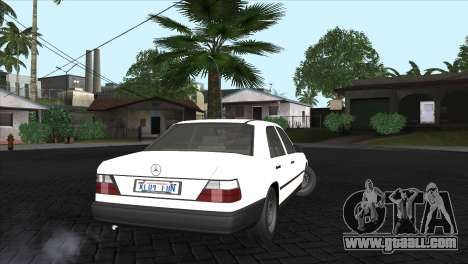 Mercedes-Benz W124 for GTA San Andreas left view