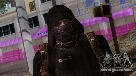 Resident Evil Skin 8 for GTA San Andreas third screenshot
