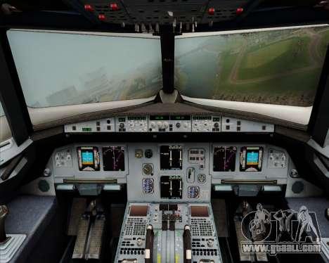 Airbus A320-200 Citilink for GTA San Andreas interior