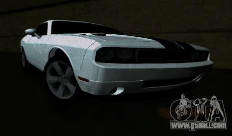 Dodge Challenger SRT for GTA Vice City