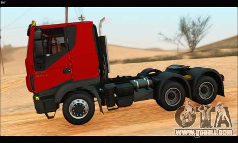 Iveco Trakker 2014 (IVF & ADD) for GTA San Andreas left view