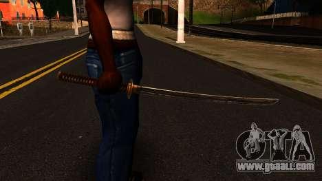 Katana from Shadow Warrior for GTA San Andreas third screenshot
