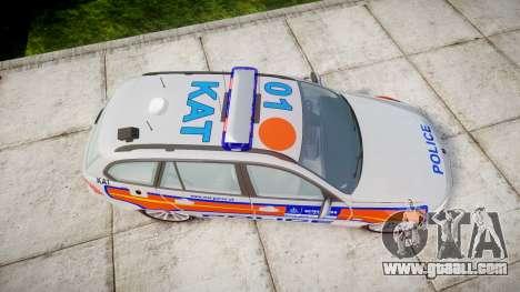 BMW 325d E91 2010 Metropolitan Police [ELS] for GTA 4