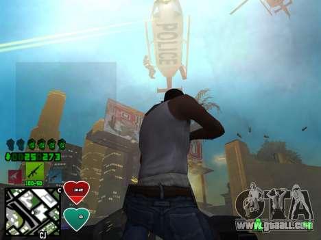 C-HUD Classic v4.1 for GTA San Andreas third screenshot