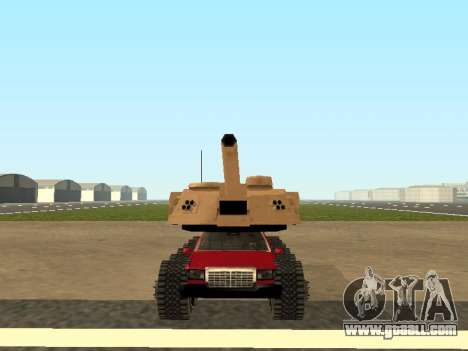 Tink Tank for GTA San Andreas back left view