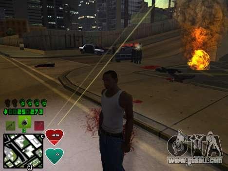C-HUD Classic v4.1 for GTA San Andreas fifth screenshot