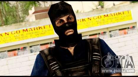 Counter Strike Skin 2 for GTA San Andreas third screenshot