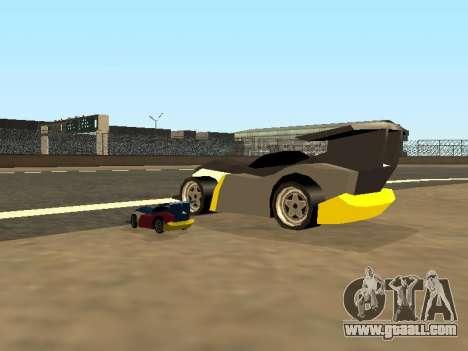RC Bandit (Automotive) for GTA San Andreas bottom view