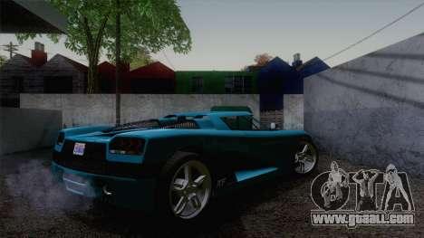 GTA V Overflod Entity XF v.2 for GTA San Andreas left view