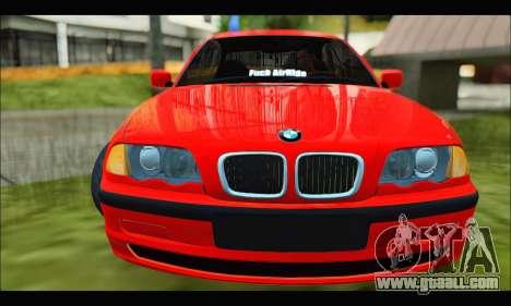 BMW e46 Sedan V2 for GTA San Andreas left view