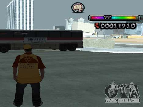 C-HUD by nester_n for GTA San Andreas third screenshot