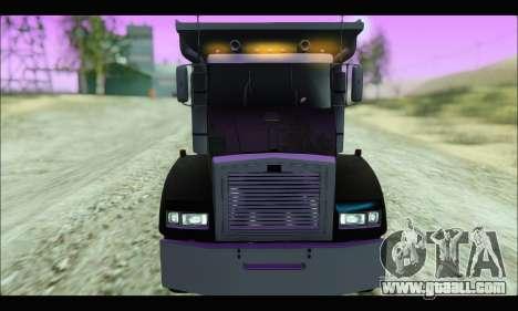 HVY Biff (GTA IV) for GTA San Andreas back left view