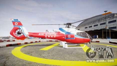Eurocopter EC130 B4 Air Koryo for GTA 4 left view