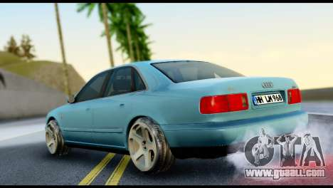 Audi A8 2002 for GTA San Andreas left view