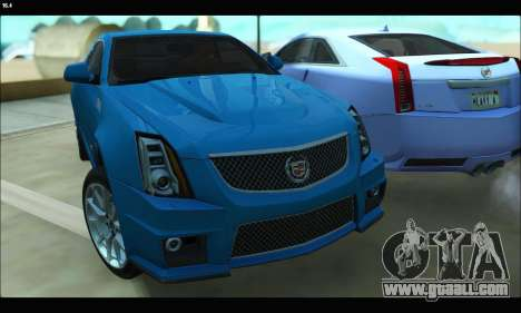 Cadillac CTS-V Coupe for GTA San Andreas left view