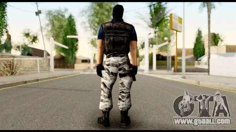 Counter Strike Skin 2 for GTA San Andreas second screenshot