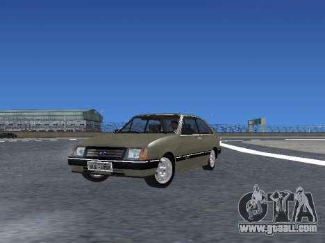 Chevrolet Chevette Hatch for GTA San Andreas engine