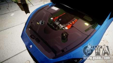 Maserati GranTurismo MC Stradale for GTA 4 inner view