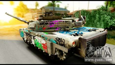 M1A2 Abrams for GTA San Andreas left view