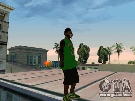 Fam3 Skin for GTA San Andreas forth screenshot