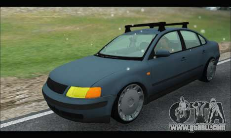 VW Passat for GTA San Andreas back view