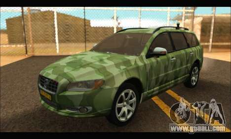 Volvo V70 Camo for GTA San Andreas